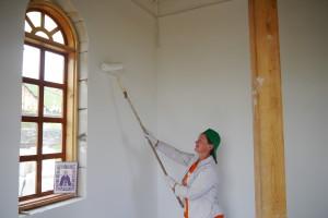 Строительство часовни Сергия Радонежского в с. Усть — Кокса