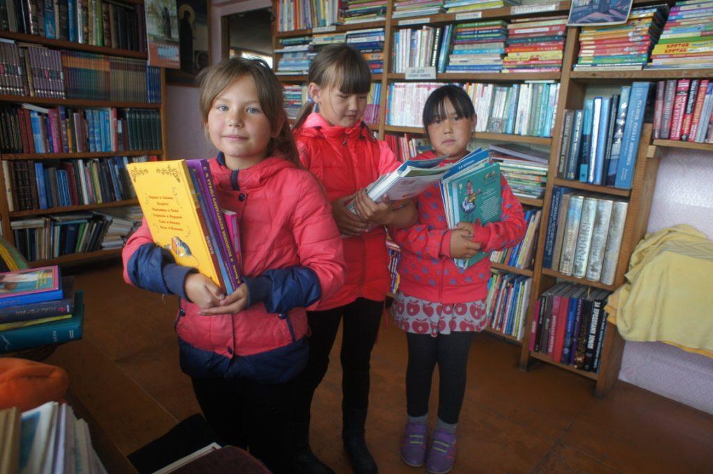 Библиотека в Усть Коксе